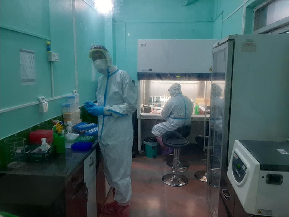 भेरी अस्पतालको प्रयोगशाला । तस्विरः प्रचण्ड गौतम