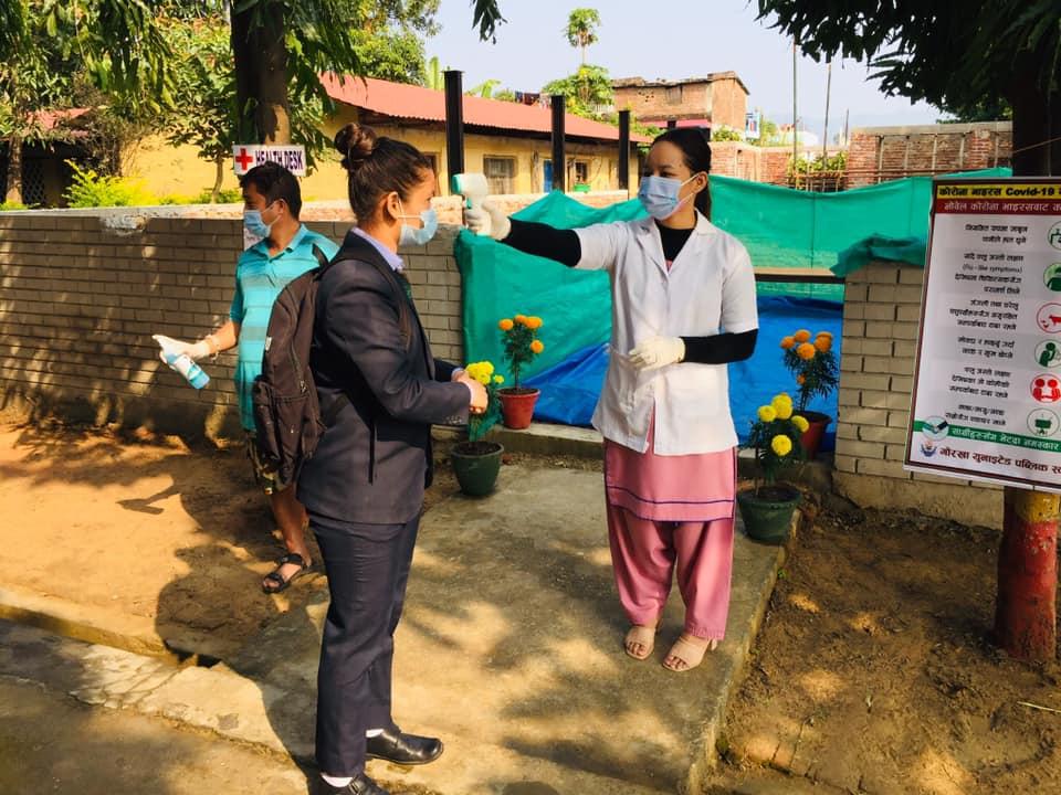 तस्विरः गोर्खा बोर्डिङ स्कुल कोहलपुर